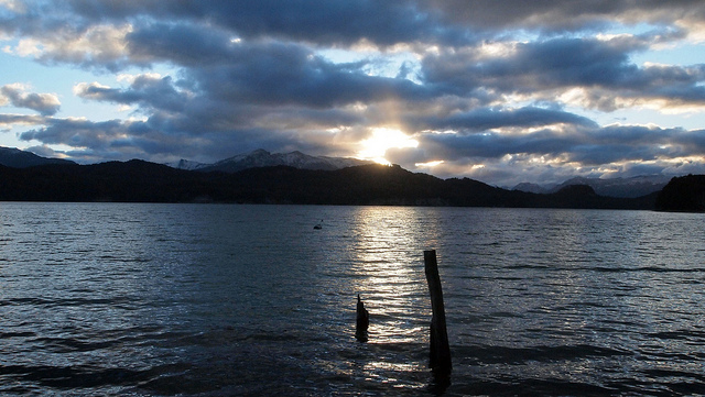 Bahía Mansa, lago Nahuel Huapi, Neuquén, Argentina