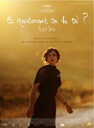 "Afiche de ""Etmaintenant, on va oú?"" Fuente: Wikipedia."