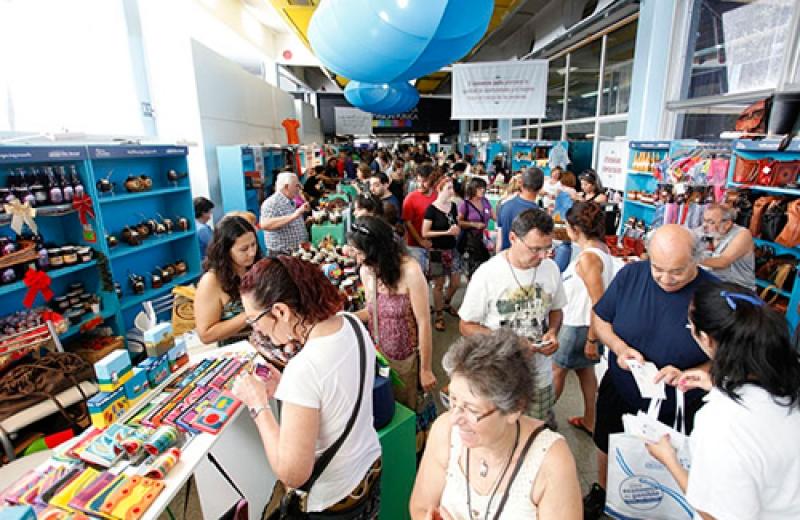 """Feria """"Compremos lo nuestro"""". Fuente: Ministerio de Desarrollo Social."""