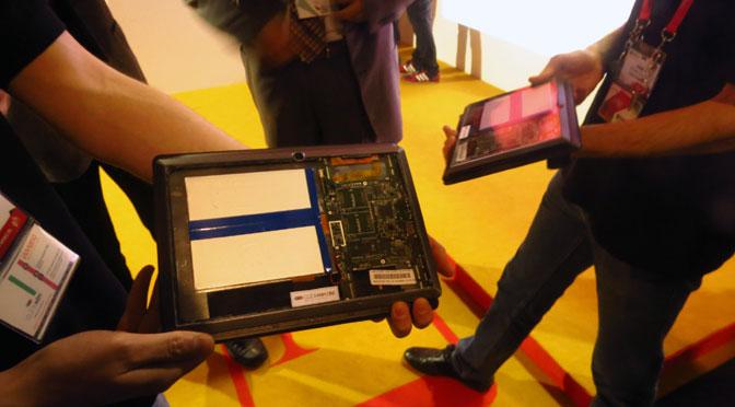 La tableta modular, a medida del usuario, ya es una realidad