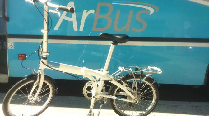 ArBus lleva bicicletas desmontables al Aeroparque