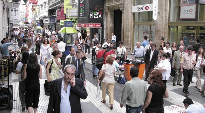 Llegó el Wi-Fi libre y gratuito a la calle Florida de Buenos Aires