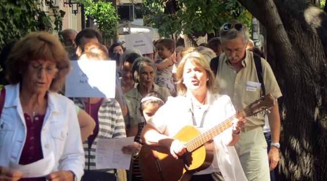Caminata ecuménica de Semana Santa en el norte del Gran Buenos Aires