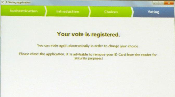 ¿Cómo es el voto a través de Internet y desde un «smartphone» en Estonia?