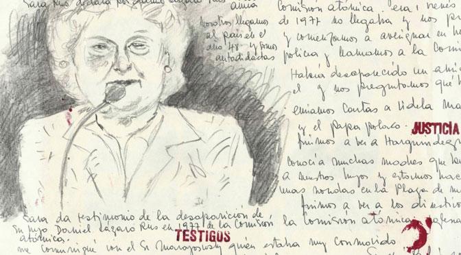 «Dibujos urgentes» de Bekeris y Doberti en el Parque de la Memoria