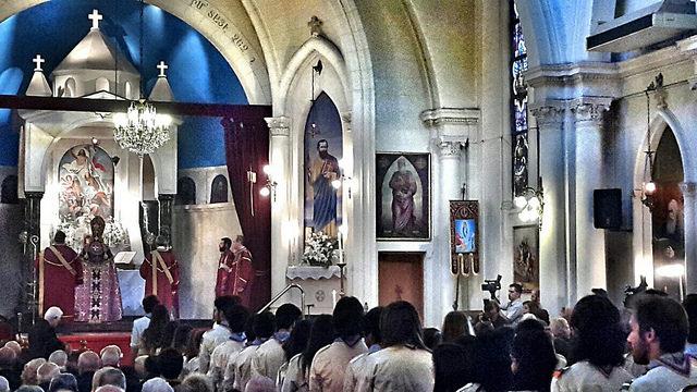 Una misa en Buenos Aires para recordar a mártires del genocidio armenio