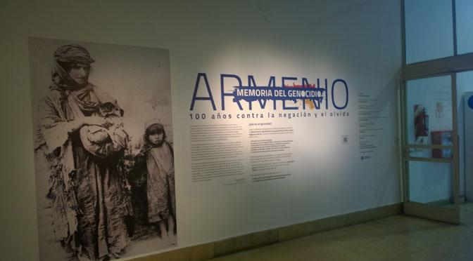 Memoria del genocidio armenio en la ex ESMA