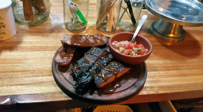 Una cena inolvidable en «El Tejano», la «steak house» de Palermo