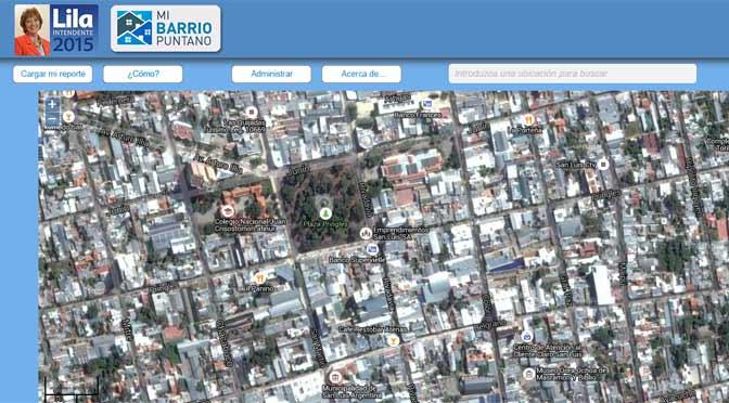Precandidata lanza en San Luis una web para denunciar problemas