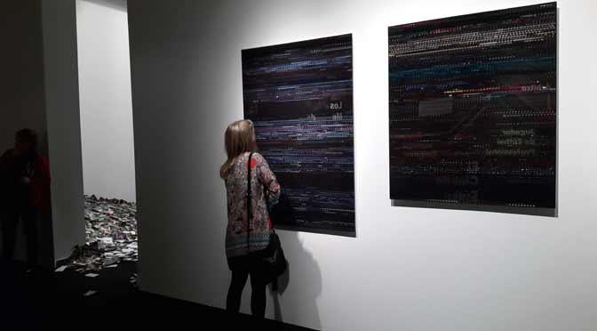 «Big data», materia prima para el arte y la reflexión en Fundación Telefónica