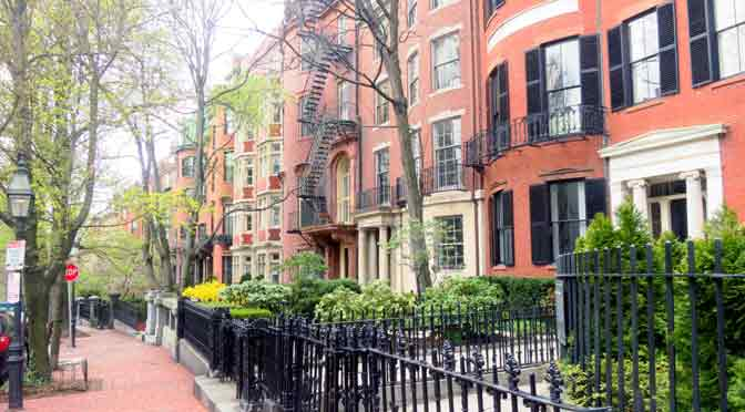 Beacon Hill, la joya empinada de Boston