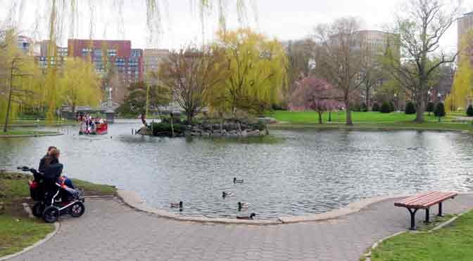 El Boston Common, un pulmón lleno de verde, fauna y de historia