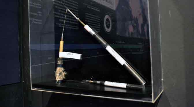Los cables submarinos salen a la superficie en la Fundación Telefónica