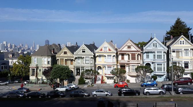 Painted Ladies, las reinas del balcón panorámico de San Francisco