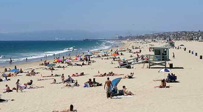 Hermosa Beach, una playa que honra su nombre