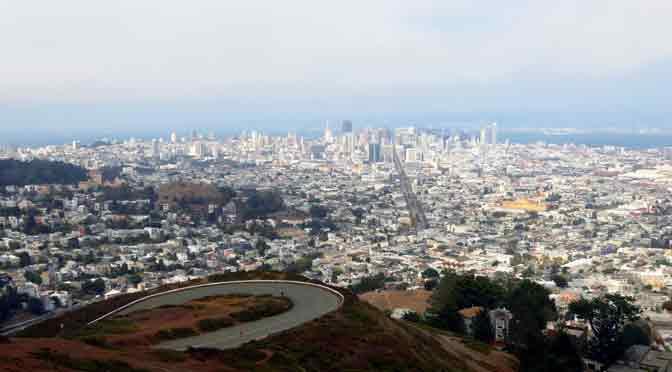 Twin Peaks, el mejor mirador panorámico de San Francisco