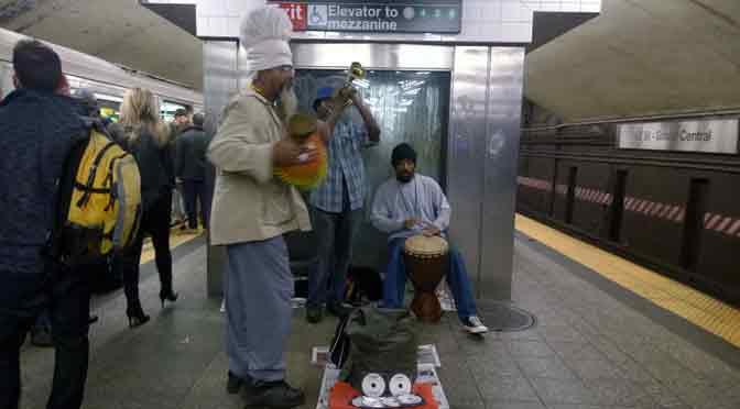 Fusión musical en el metro de New York