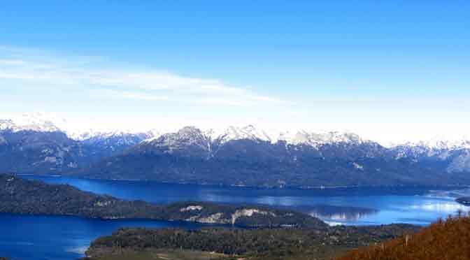 El cerro Bayo, el balcón panorámico del lago Nahuel Huapi