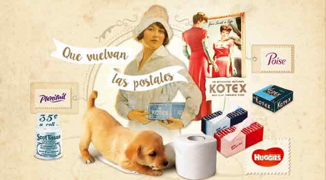 Kimberly-Clark promueve la escritura a mano con el envío de postales