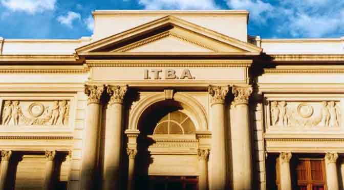 Curso de verano del ITBA para su licenciatura en administración y sistemas