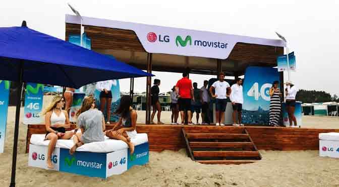 Movistar lanza campaña para fomentar el uso de la 4G en el verano
