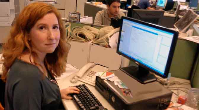 Mujeres y periodistas: Alejandra Beresovsky