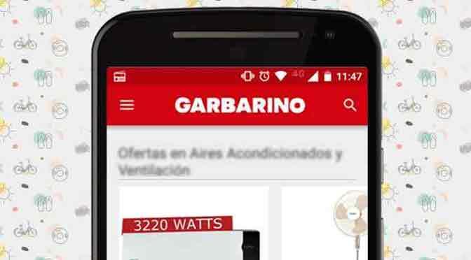 Garbarino crece en el comercio electrónico a través de móviles