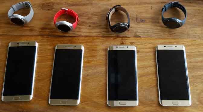 Samsung presenta en la Argentina sus Galaxy Gear S2 y S6 edge+