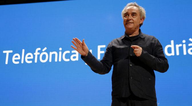Más de mil personas asisten en Buenos Aires a charla de Ferran Adrià