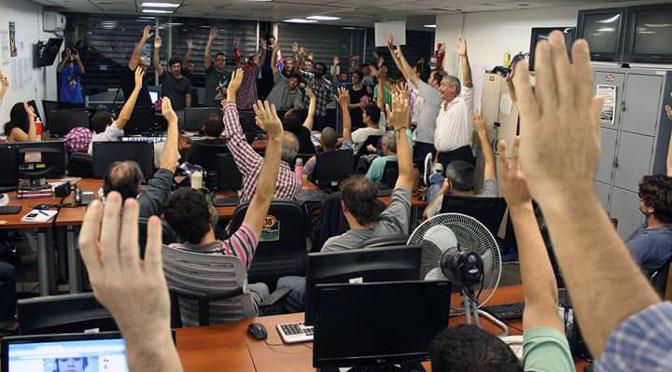 Trabajadores de Tiempo Argentino aprueban creación de cooperativa