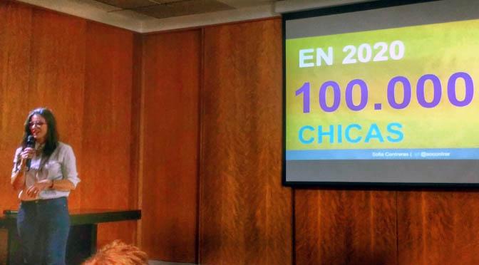Chicas en Tecnología presentó sus actividades para 2016