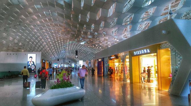El aeropuerto futurista de Shenzhen