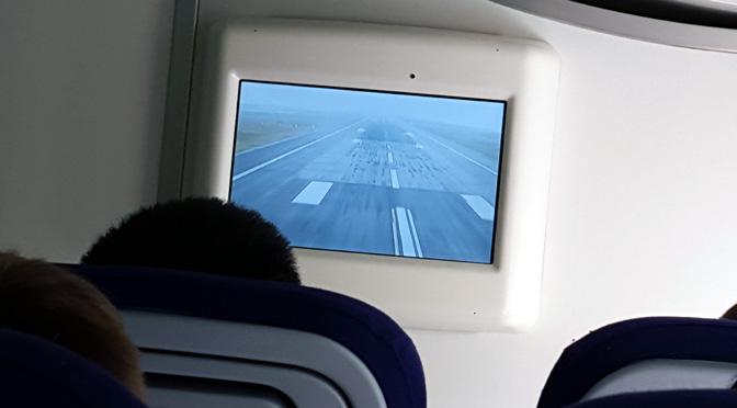 Aterrizaje en vivo y en directo de «la reina de los cielos» en Frankfurt