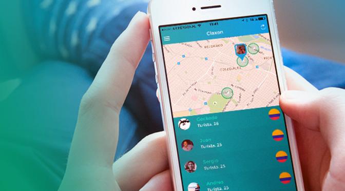ClaxonApp, la aplicación que conecta fuera del país con compatriotas