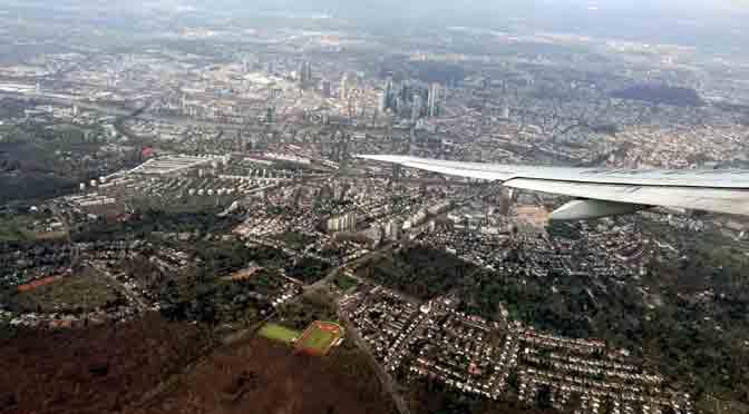 Frankfurt desde un Boeing 777-39L(ER)