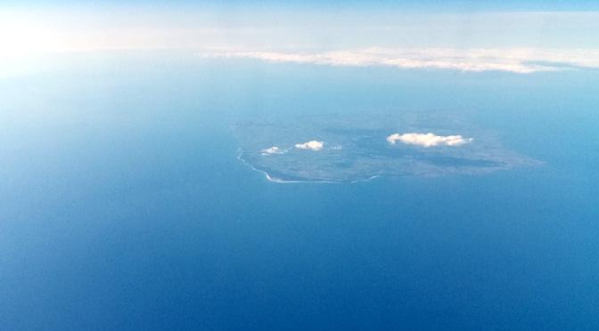 El mar Báltico desde un Boeing 777-39L(ER)