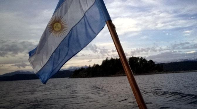 Banderas argentinas por el Bicentenario