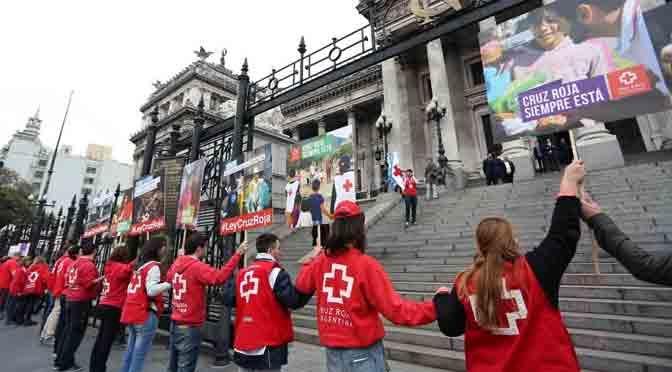 La Cruz Roja Argentina presentó un proyecto para actualizar su norma