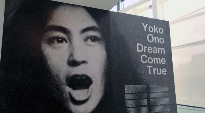 Yoko Ono en el MALBA de Buenos Aires: una muestra de sueños reales