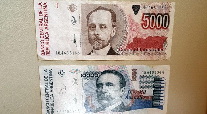 Historia monetaria argentina expuesta en Puerto Madryn