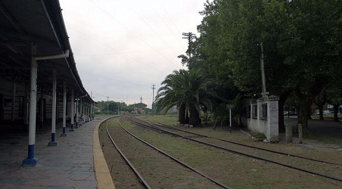 La vieja estación de trenes de Chascomús