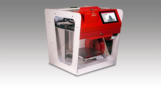 Exo lanza su impresora para piezas 3D