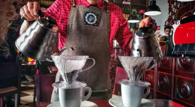 Arte y pasión por el café en Bogotá