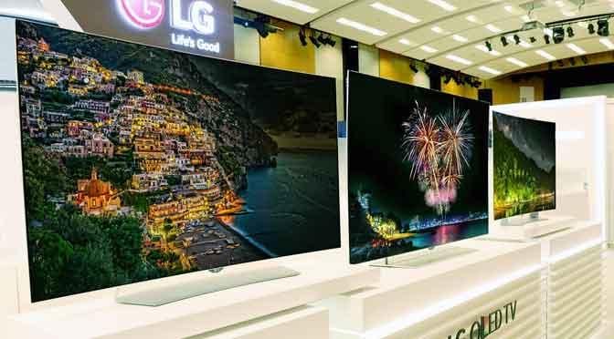 Frávega invierte $40 millones para fabricar televisores LG