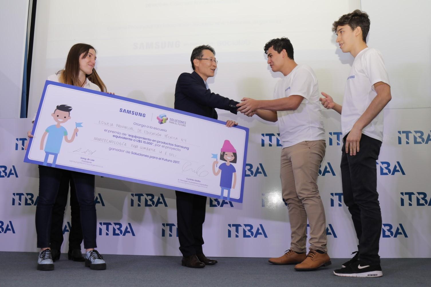 Soluciones para el futuro: programa de Samsung para estudiantes