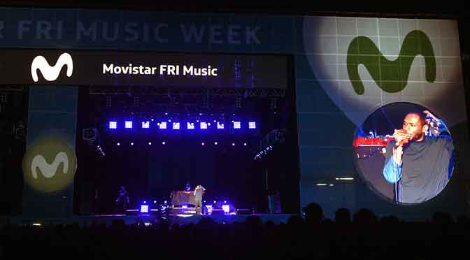 El «Movistar Fri Music Week» transformó a Buenos Aires en un escenario gigante