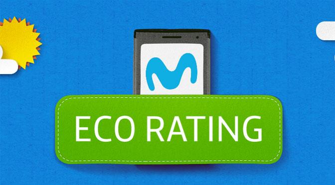 Movistar suma a su catálogo de móviles etiquetas con valoraciones ecológicas