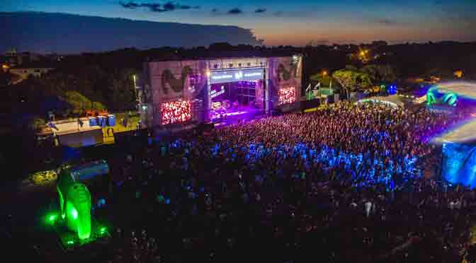 Más de 10.000 personas en el Movistar Fri Music en Pinamar