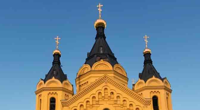 Un paseo de fe en Rusia