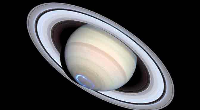 Las imágenes inéditas de Saturno y Marte